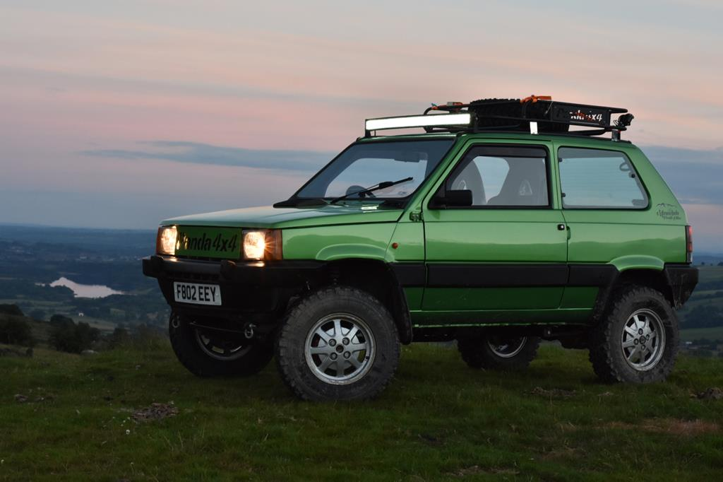1988 fiat panda 4x4 sisley modified greenlaner retro rides. Black Bedroom Furniture Sets. Home Design Ideas