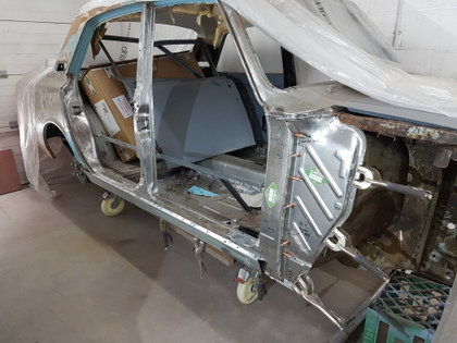1967 Ford Corsair V4 Restoration Amused We Are Not