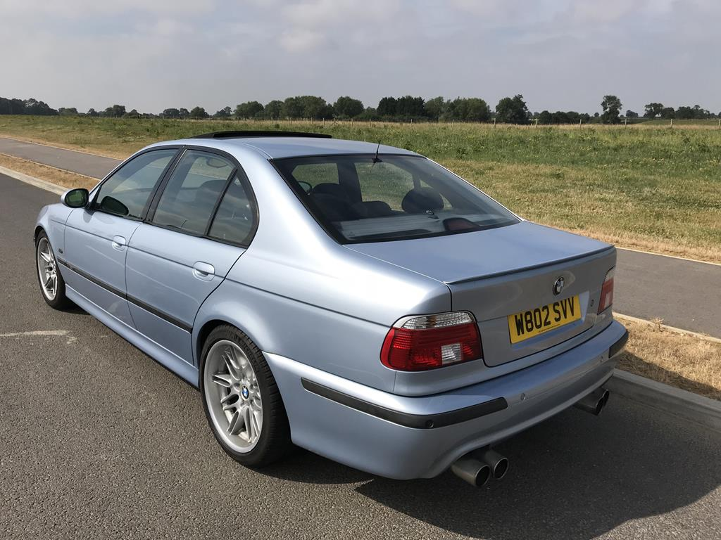 Bmw E39 M5 Silverstone Blue Well Maintained Sold Retro Rides